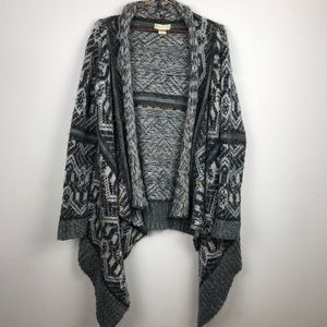Urban Outfitters Chunky Waterfall Cardigan Med